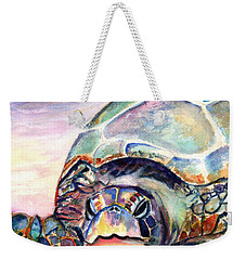 Turtle At Poipu Beach Weekender Tote Bag