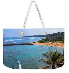 Turtle Bay Lagoon Weekender Tote Bag by Michael Rucker