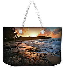 Turtle Bay Sunset 1 Weekender Tote Bag