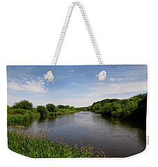 Turtle Creek Weekender Tote Bag by Kimberly Mackowski