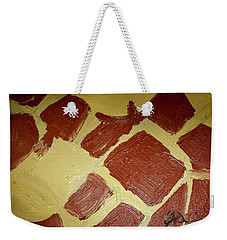 Weekender Tote Bag featuring the painting Turtle Lamp by Shea Holliman