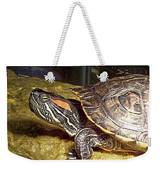 Turtle Reflections Weekender Tote Bag