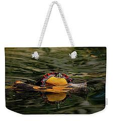 Turtle Taking A Swim Weekender Tote Bag