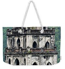 Turtle Tower Weekender Tote Bag