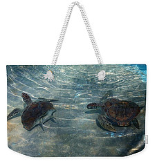 Turtles Quite Different Weekender Tote Bag