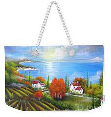 Tuscany Shore Weekender Tote Bag