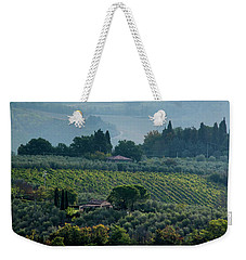 Tuscan Afternoon Weekender Tote Bag by Jean Haynes