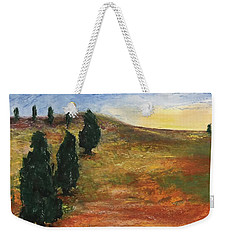 Tuscan Lights Weekender Tote Bag