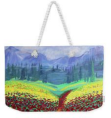 Tuscan Poppies Weekender Tote Bag