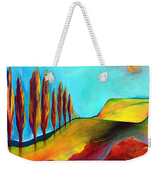 Tuscan Sentinels Weekender Tote Bag by Elizabeth Fontaine-Barr