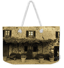Weekender Tote Bag featuring the photograph Tuscan Village by Frank Stallone