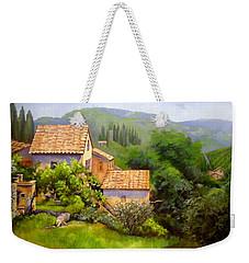 Tuscan Village Memories Weekender Tote Bag