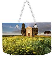 Tuscany Chapel Weekender Tote Bag