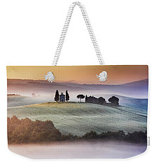 Tuscany Church On The Hill Weekender Tote Bag