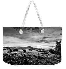 Tuscany In Bw Weekender Tote Bag