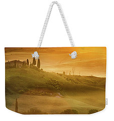 Tuscany In Golden Weekender Tote Bag