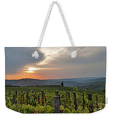 Tuscany Sunset Weekender Tote Bag by Loriannah Hespe
