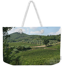 Tuscany Vineyard Weekender Tote Bag