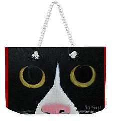 Tux Portrait  Weekender Tote Bag