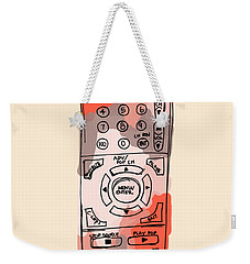 tv remote I Weekender Tote Bag