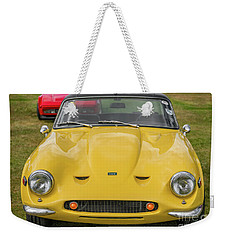 Weekender Tote Bag featuring the photograph Tvr Vixen S2 1969 by Adrian Evans