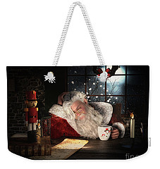 Twas The Night Before Christmas Weekender Tote Bag by Shanina Conway