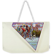 Tweed Run London 2 Guvnors  Weekender Tote Bag