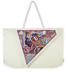 Tweed Run London Princess And Guvnor  Weekender Tote Bag by Mark Jones