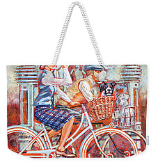 Tweed Runners On Pashleys Weekender Tote Bag