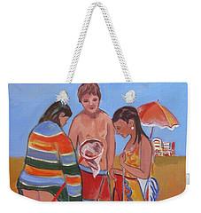 Tweens At The Beach Weekender Tote Bag