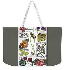 Twelve Month Flower Box Weekender Tote Bag