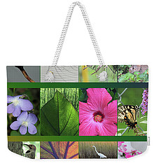 Weekender Tote Bag featuring the photograph Twelve Months Of Nature by Peg Toliver