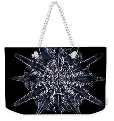 Twelve Sided Snowflake Weekender Tote Bag