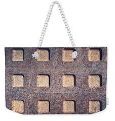 Twelve Squares Weekender Tote Bag
