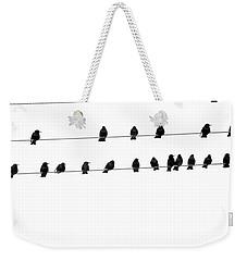 Twenty Blackbirds Weekender Tote Bag by Angie Rea