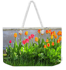 Twenty-five Tulips Weekender Tote Bag