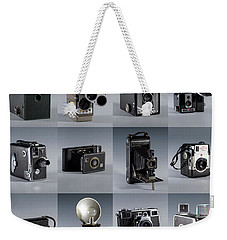 Twenty Old Cameras - Color Weekender Tote Bag