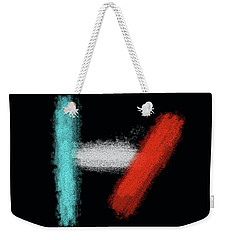 Twenty One Pilots Black Abstract Weekender Tote Bag
