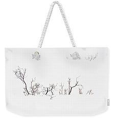 Twigs In Snow Weekender Tote Bag