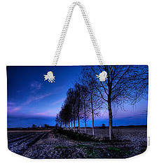Twilight And Trees Weekender Tote Bag