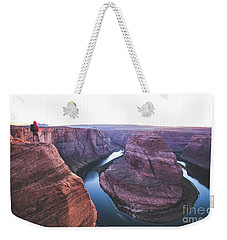 Twilight At Horseshoe Bend Weekender Tote Bag by JR Photography
