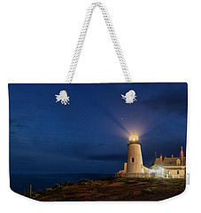 Twilight At Pemaquid Light Weekender Tote Bag