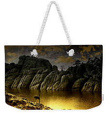 Twilight At The Lake Weekender Tote Bag