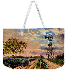 Twilight At The Vineyard Weekender Tote Bag