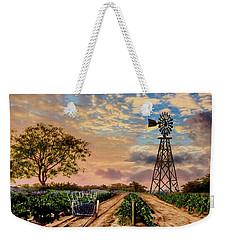 Twilight At The Vineyard Weekender Tote Bag