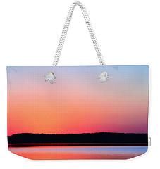 Twilight Blush Weekender Tote Bag