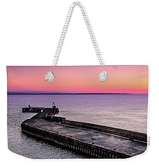 Twilight, Burghead Harbour Weekender Tote Bag