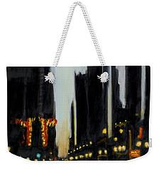 Twilight In Chicago Weekender Tote Bag