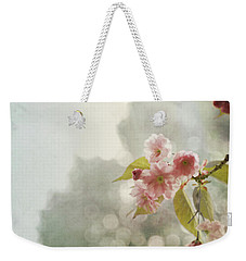 Weekender Tote Bag featuring the photograph Twilight In The Garden by Brooke T Ryan