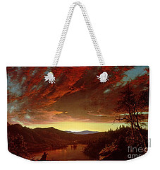 Twilight In The Wilderness Weekender Tote Bag by Frederic Edwin Church